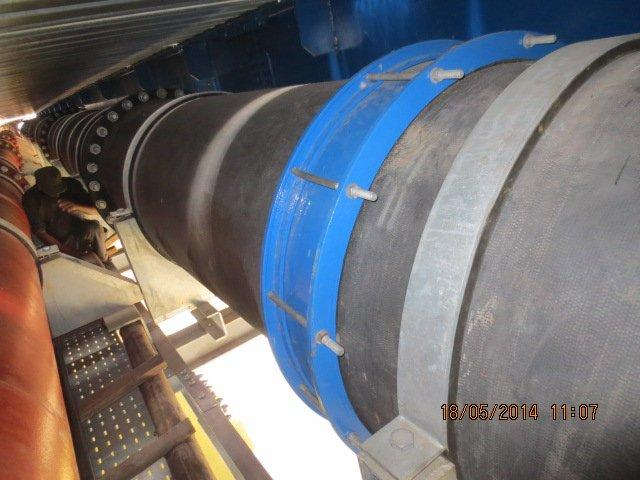 Coupling fixed at middle